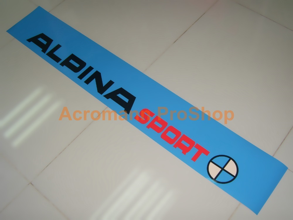 ALPINA Sport Windshield Decal (Style#1)